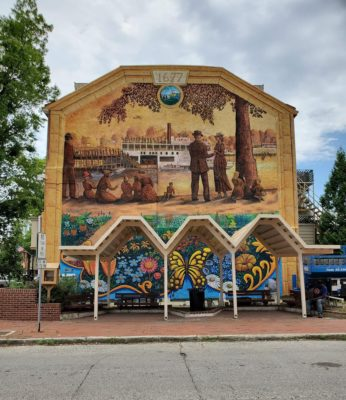 Pocket Park Mural